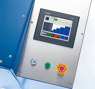 сенсорная панель управления планетарным миксером SpeedMixer DAC 3000